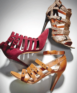 The Hottest Fall Shoe Silhouette to Wear Right Now: Strappy Shoes