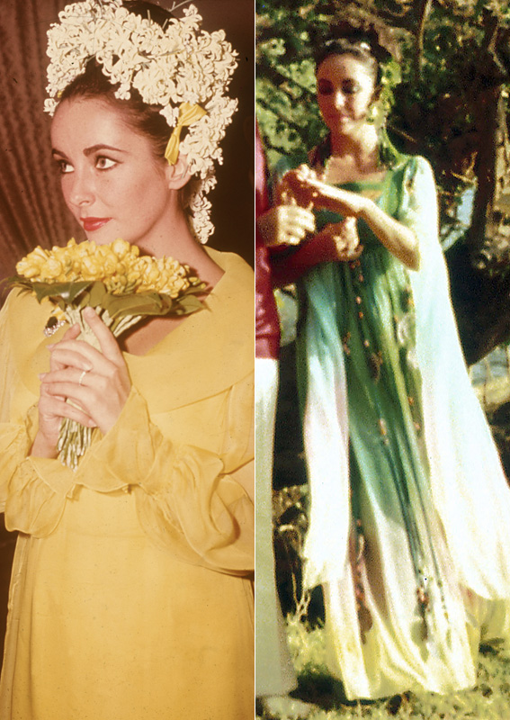 Elizabeth taylor the best celebrity wedding dresses of for Elizabeth taylor s wedding dresses