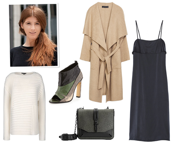 Alexandra Derosa Fashion Assistant What Instyle Editors Wear To Nyfw Shows