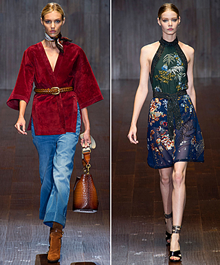 Gucci Spring 2015 Runway Show