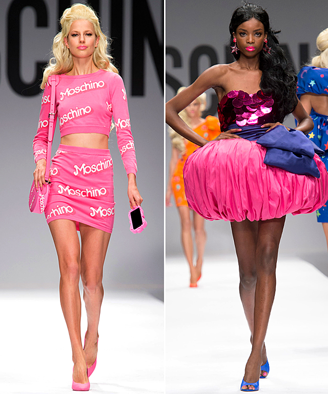 Moschino Spring 2015 Runway Show