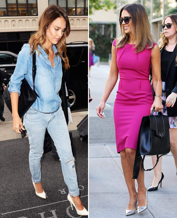 Day to Night Accessories: Jessica Alba