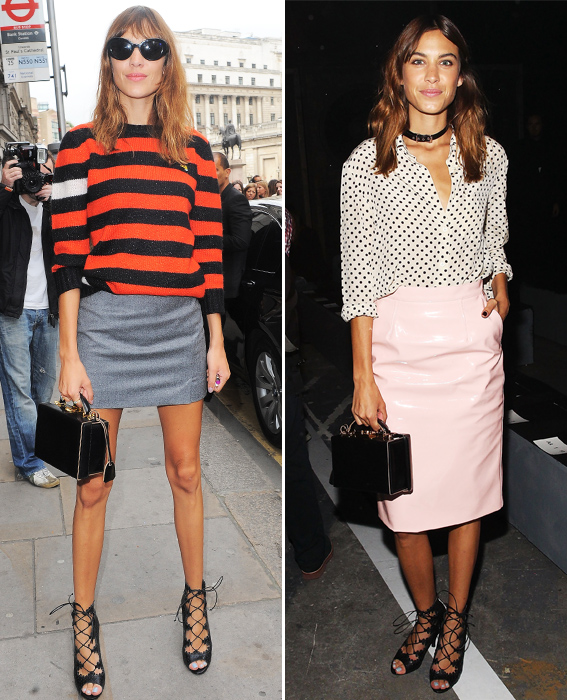 Day to Night Accessories: Alexa Chung