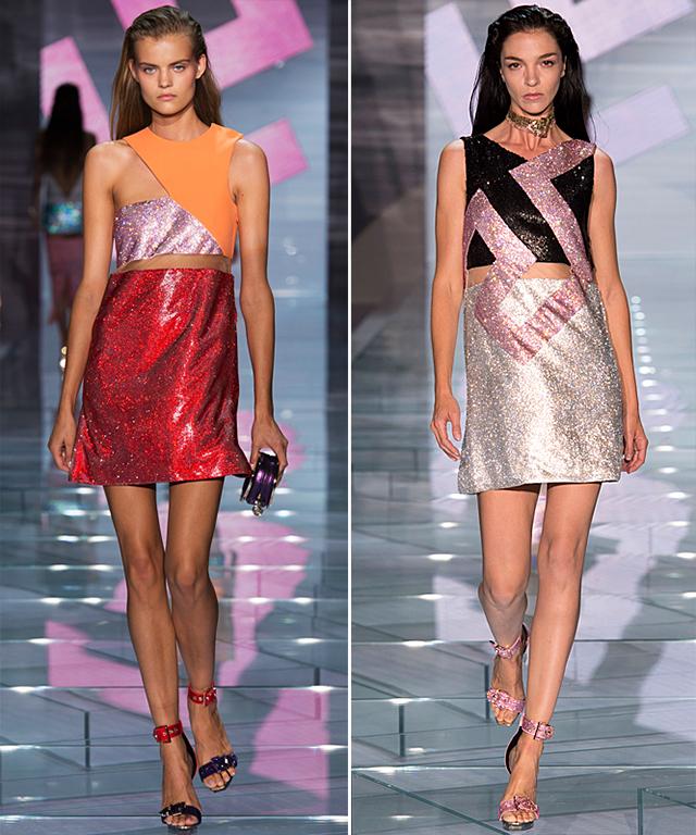 Versace Spring 2015 Runway Show