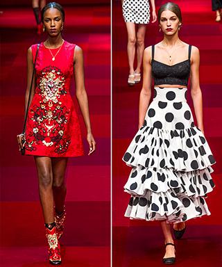 Dolce & Gabbana Spring/Summer 2015 Runway