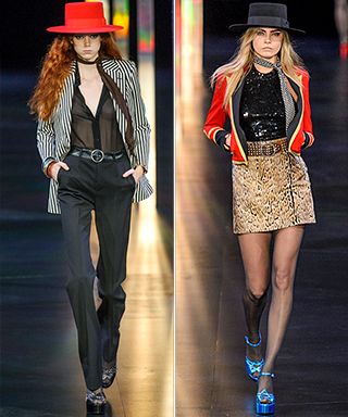 Saint Laurent Spring 2015 Runway Show