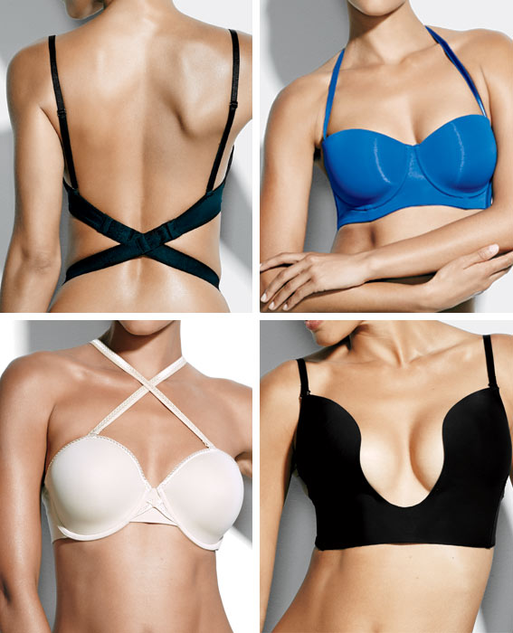 how to make own clear bra strap