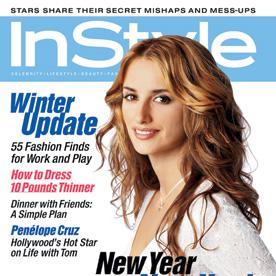 January Penelope Cruz InStyle Magazine Covers 2002