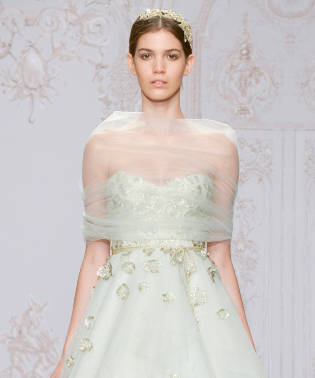 Monique Lhuillier Bridal Fall 2015