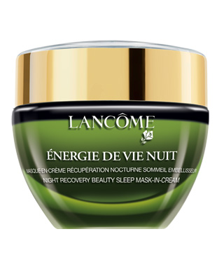 10 Miracle Masks That Will Completely Change Your Skin - Lancôme Energie De Vie Nuit Overnight Recovery Mask
