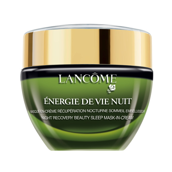 lanc me energie de vie nuit overnight recovery mask 10. Black Bedroom Furniture Sets. Home Design Ideas