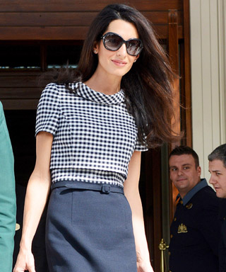Amal Clooney's Most Stylish Looks - October 16, 2104