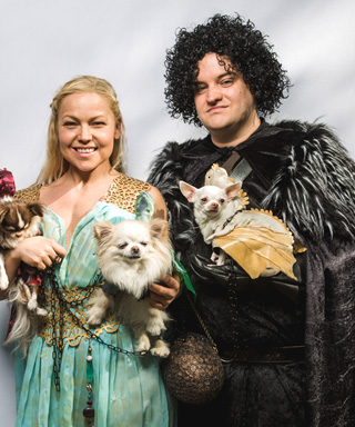 27 Costumes from NYC's Tompkins Square Park Halloween Dog Parade - <i>Game of Thrones</i>