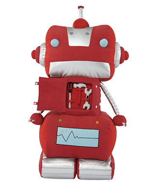 Gifts For the Cool Kid - The Land of Nod Plush Robot