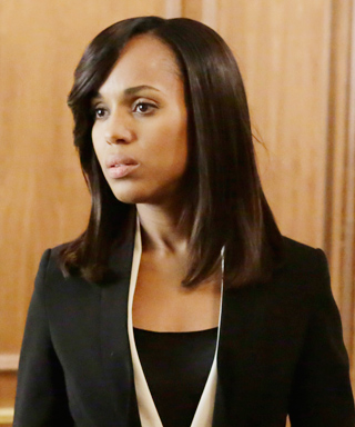 <em>Scandal</em> Fashion Credits: All the Details on What the Stars Wore - SEASON 4, EPISODE 9: PRADA HOUNDSTOOTH COAT