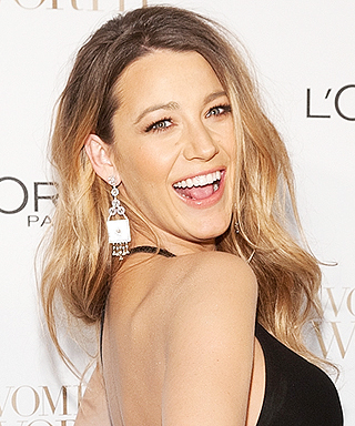 Chic Celebrity Maternity Style - Blake Lively, December 2014