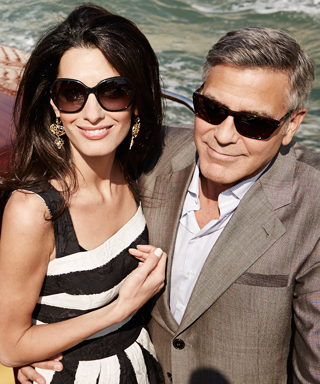 George Clooney and Amal Alamuddin's Wedding Photos - Aboard the Water Taxi