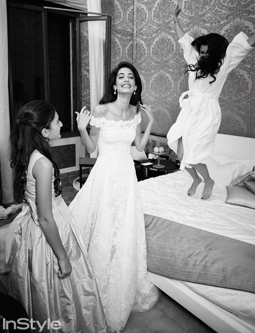 Amal Alamuddin Prepares for her Wedding Ceremony (Photo) – InStyle