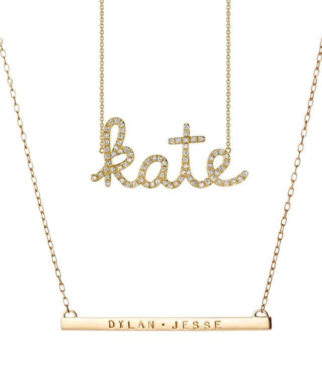 Shop Scripted Necklaces