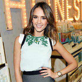 Jessica Alba Look Of The Day January 31 2014 InStyle