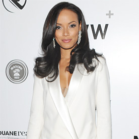 Selita Ebanks Look Of The Day January 31 2014 InStyle