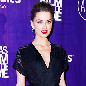 Amber Heard Look Of The Day March 7 2014 InStyle