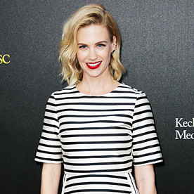 January Jones Look Of The Day March 21 2014 InStyle