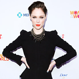 Coco Rocha Look Of The Day April 4 2014 InStyle