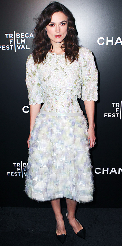 Keira Knightly in Chanel Couture