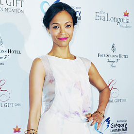 Zoe Saldana Look Of The Day May 13 2014 InStyle