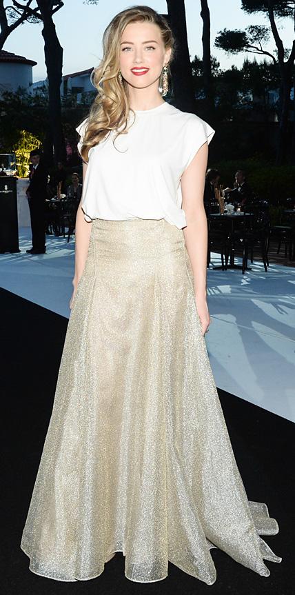 Amber Heard in Vionnet