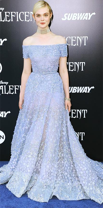 Elle Fanning in Elie Saab Haute Couture