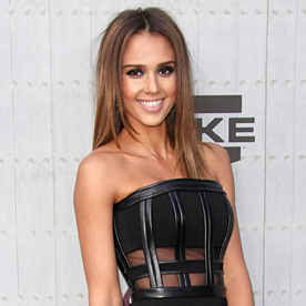 Jessica Alba Look Of The Day June 9 2014 InStyle