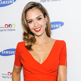 Jessica Alba Look Of The Day June 11 2014 InStyle