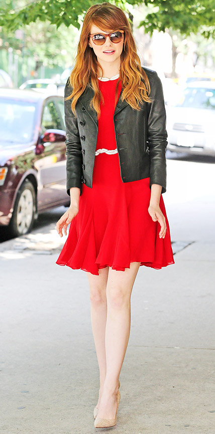 Emma Stone Look Of The Day July 17 2014 Instyle