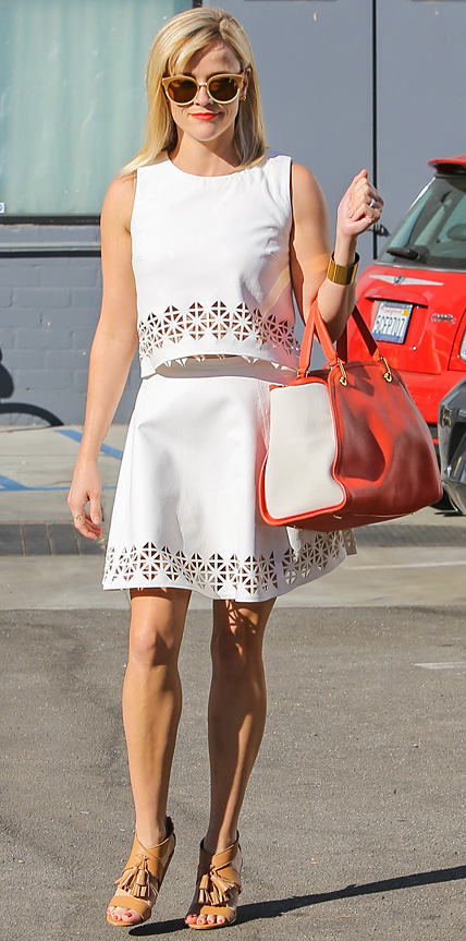 Reese Witherspoon in Monica Rose for Lovers + Friends