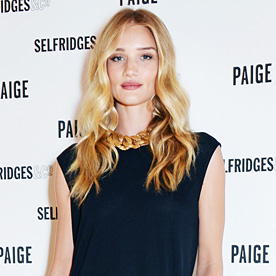 Rosie Huntington Whiteley Look Of The Day July 27 2014