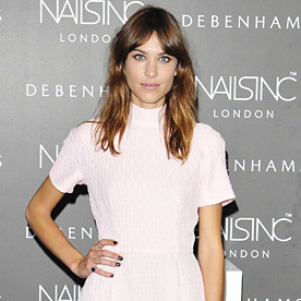 Alexa Chung Look Of The Day August 15 2014 InStyle
