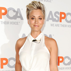 Kaley Cuoco Look Of The Day October 23 2014 InStyle