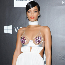 Rihanna Look Of The Day October 30 2014 InStyle