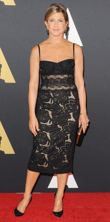 November 8 2014 Jennifer Aniston 39 S 32 Best Little Black Dresses Ever