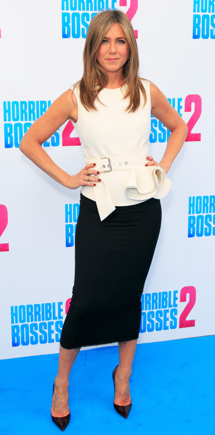 Jennifer Aniston in Bouchra Jarrar
