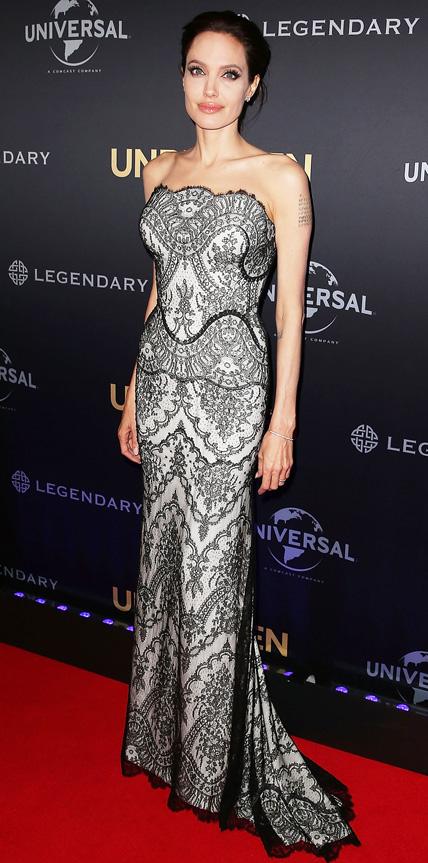 Angelina Jolie in Gucci Premiere