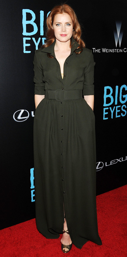 Amy Adams in Max Mara   My 5 Best Dressed 12/21/2014