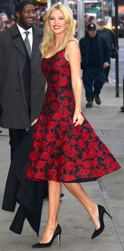 Ivanka Trump  My 5 Best Dressed 12/21/2014