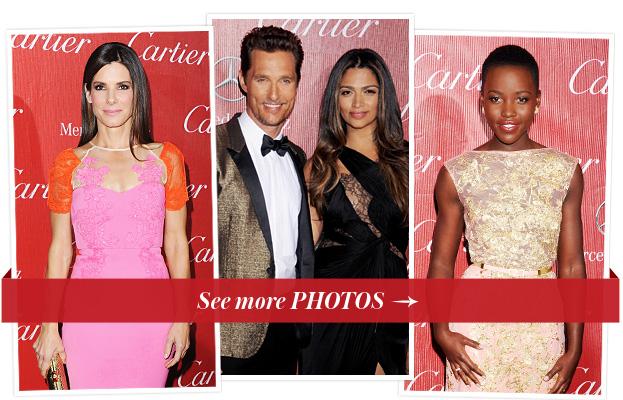 Sandra Bullock, Matthew McConaughey, Camila Alves, Lupita Nyong'o