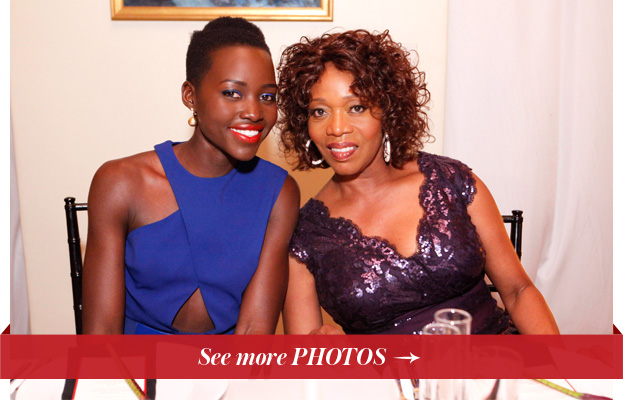 Lupita Nyong'o and Alfre Woodard
