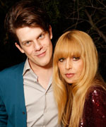 Wes Gordon and Rachel Zoe