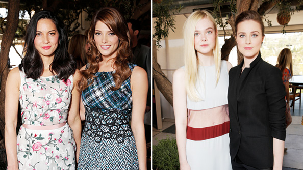 Olivia Munn, Ashley Greene, Elle Fanning, and Evan Rachel Wood