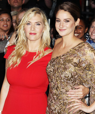 Kate Winslet and Shailene Woodley